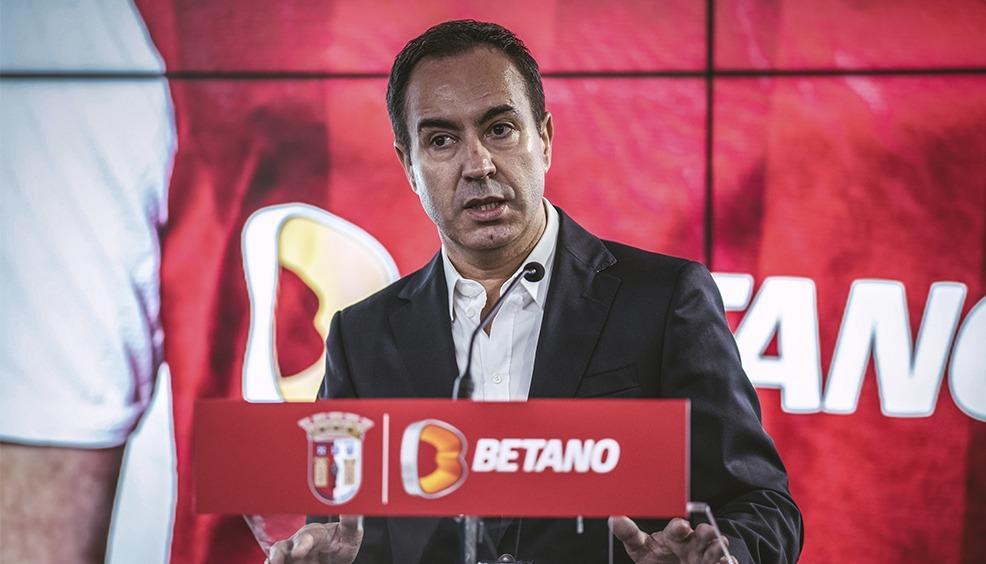 """Betano é o """"main sponsor"""" do SC Braga 2"""
