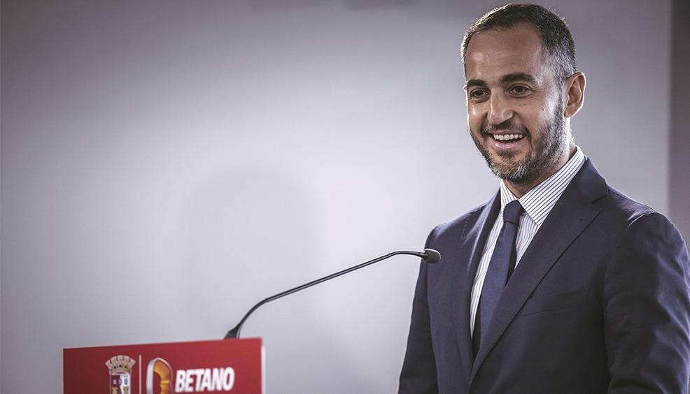 """Betano é o """"main sponsor"""" do SC Braga 3"""