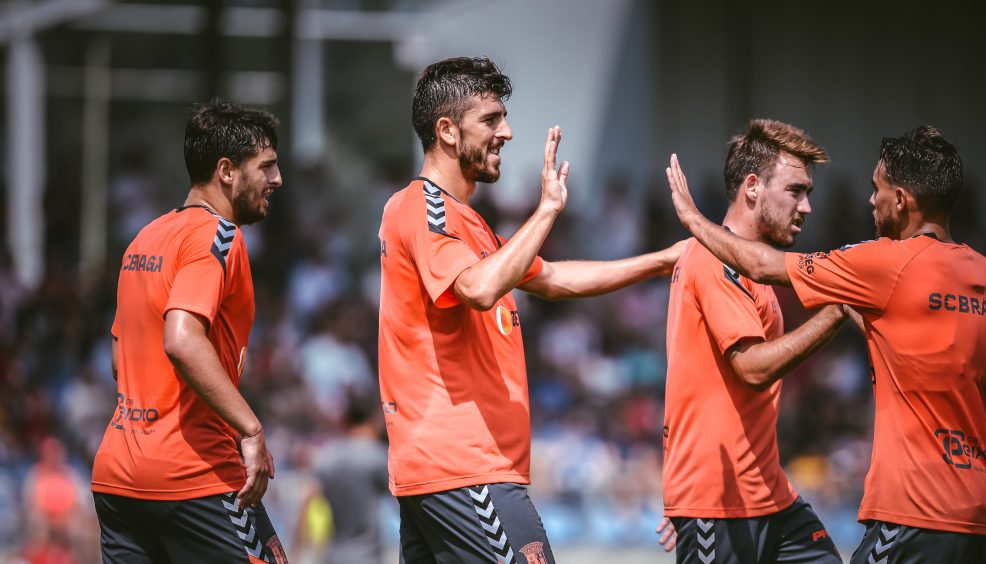 """Paulinho: """"Tivemos bons momentos de futebol"""" 5"""