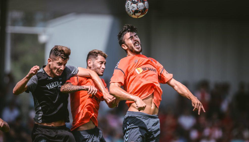 """Paulinho: """"Tivemos bons momentos de futebol"""" 4"""
