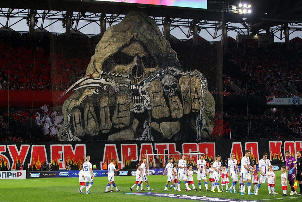 Spartak Moskva vence dérbi com o CSKA 3