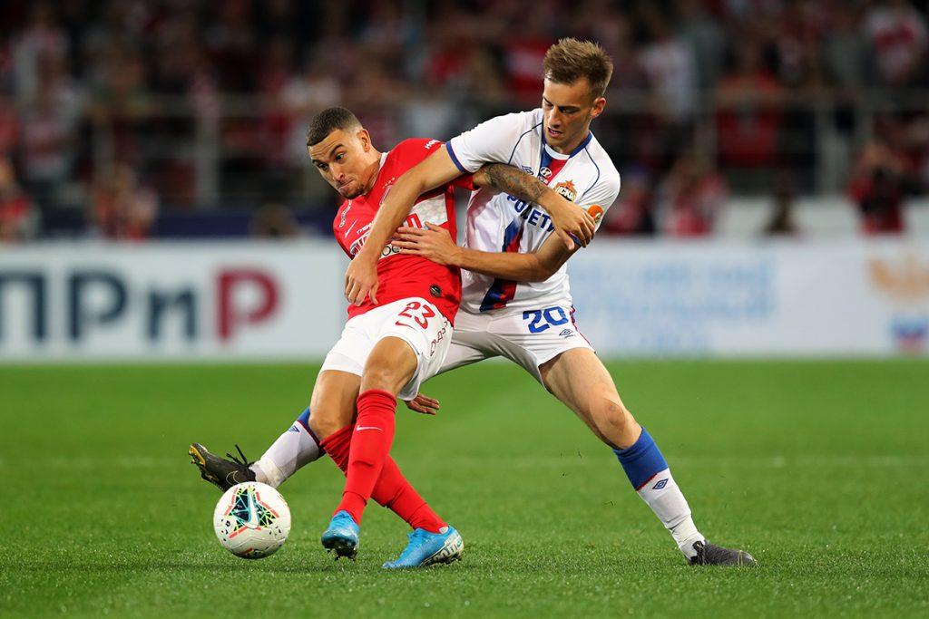 Spartak Moskva vence dérbi com o CSKA 2