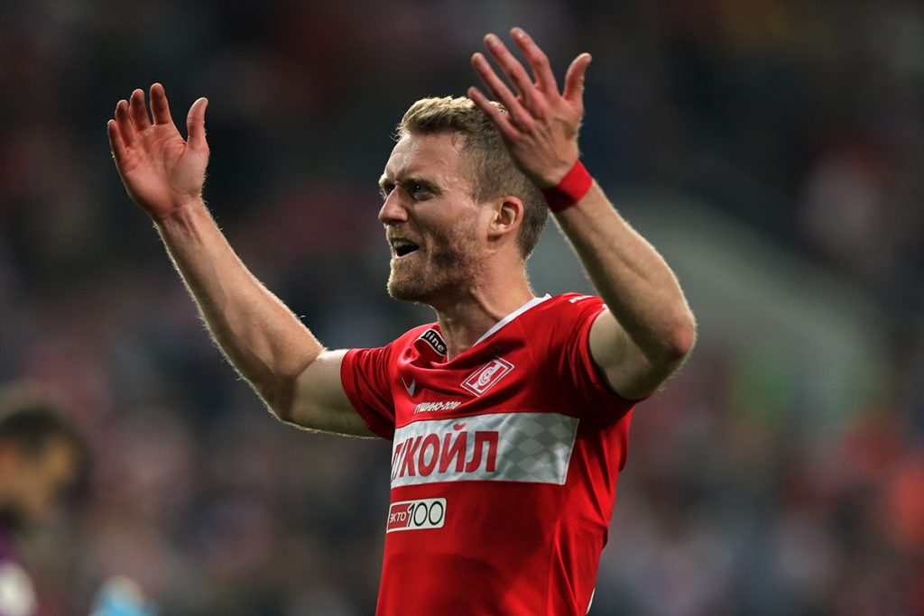 Spartak Moskva vence dérbi com o CSKA