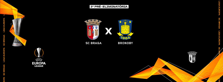 Brøndby é o adversário na Europa 1