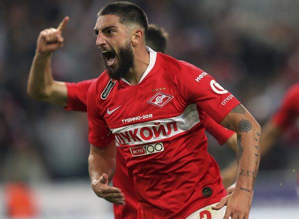 Spartak Moskva vence dérbi com o CSKA 7