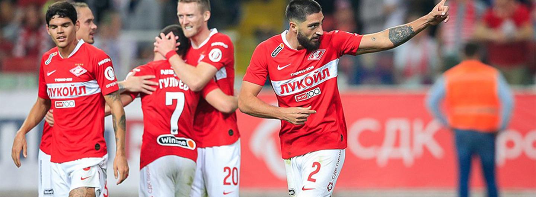 Spartak Moskva vence dérbi com o CSKA 6