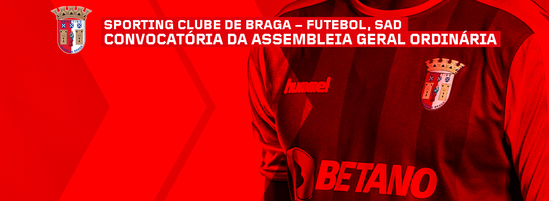 SC Braga SAD - Convocatória de Assembleia Geral 1