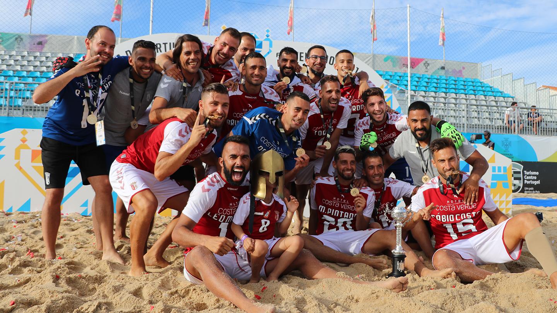Presidente felicita época do futebol de praia