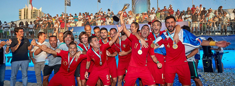 Quatro Gverreiros sagram-se campeões da Europa 1
