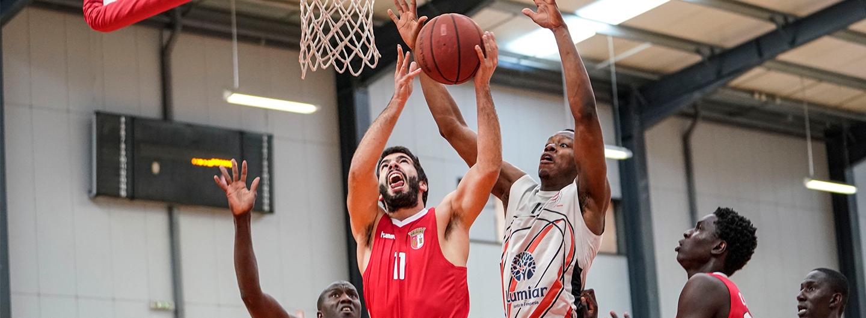 Basket: Sorte não sorriu aos Gverreiros 1