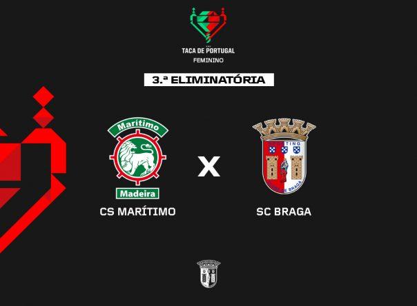 CS Marítimo é adversário na Taça de Portugal 1