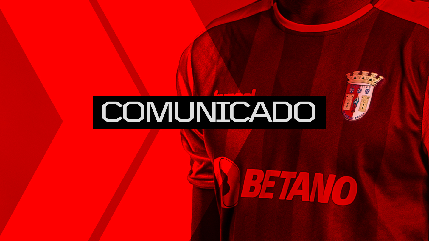 Comunicado do SC Braga