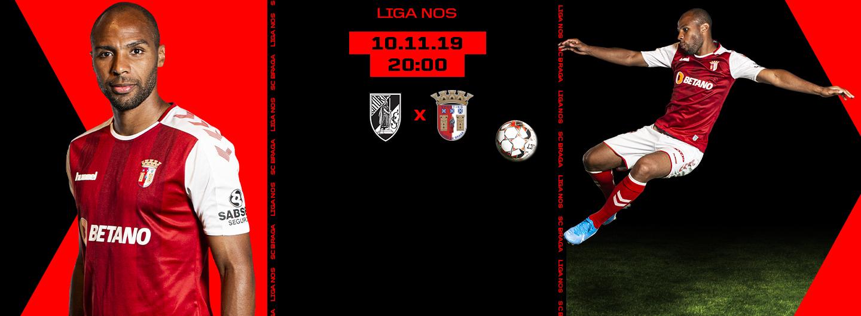 Vitória SC x SC Braga 1
