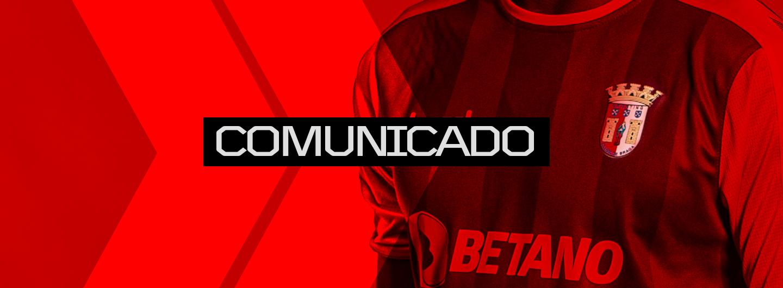Comunicado do SC Braga 1