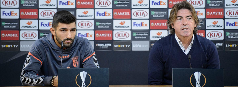 Sá Pinto: «Queremos seguir em frente» 1