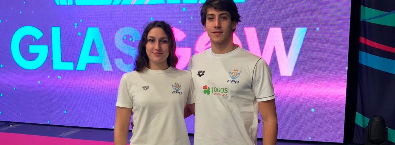 Tamila e José Paulo quebram recordes pessoais em Glasgow 1