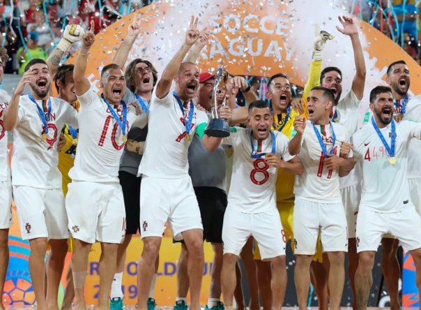 Portugal é Campeão do Mundo de Futebol de Praia 5