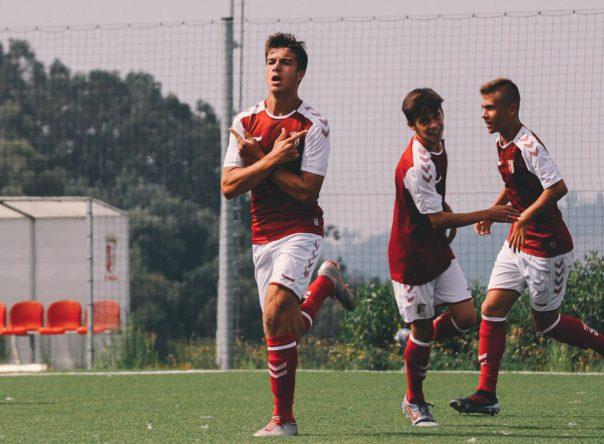 Sub-15: Goleada na receção ao Gil Vicente FC 1