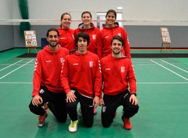 Badminton do SC Braga consolida o 2º lugar na Liga de Clubes