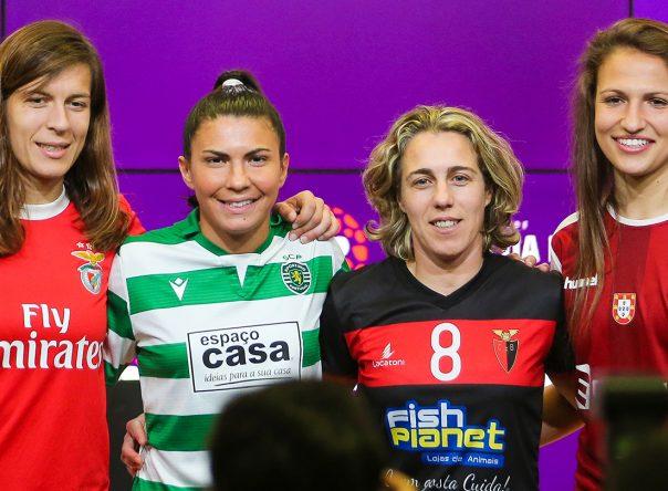 Apresentação da Taça da Liga Feminina 1