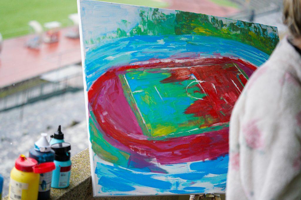 Mais de 2500km para pintar os Estádios da Legião 3