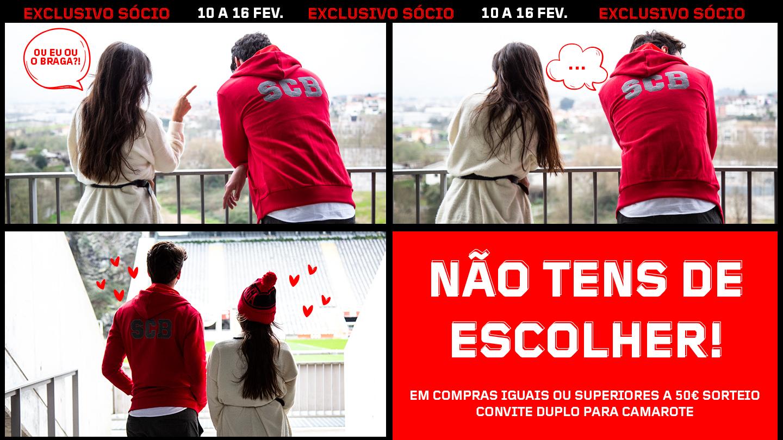 Não tens de escolher...Campanha Dia dos Namorados 2