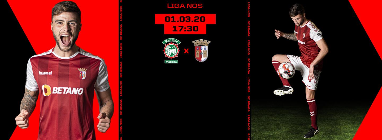 CS Marítimo x SC Braga 1
