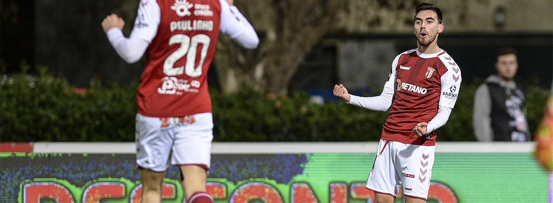 Ricardo Horta eleito o melhor jogador do mês 1