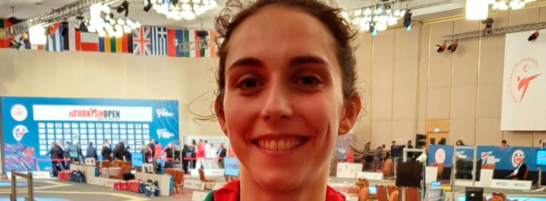Joana Cunha de bronze no Open da Turquia 1