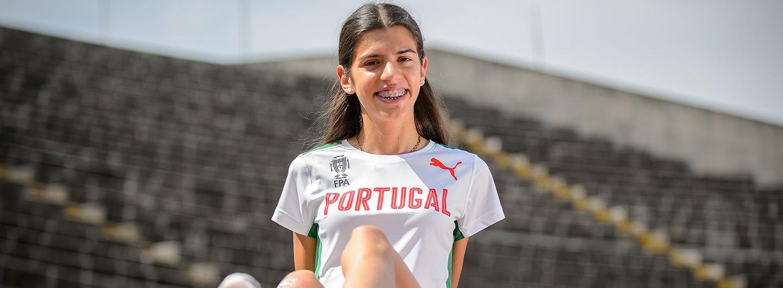 Mariana sagra-se campeã nacional de Sub-23 em Pista Coberta 2