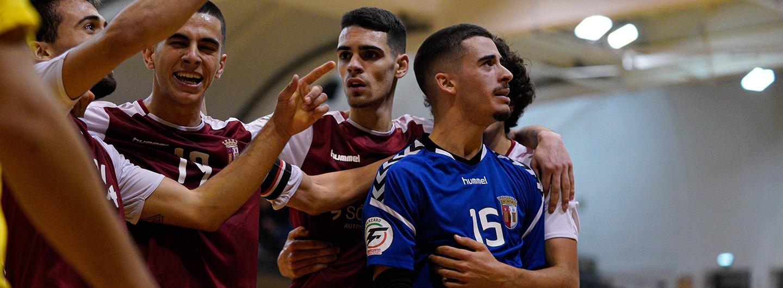 Futsal Sub-19: Gverreiros vencem Quinta dos Lombos 1