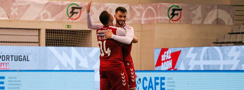 SC Braga/AAUM apura-se para as meias-finais da Taça de Portugal 2