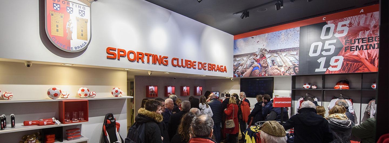 Lojas do SC Braga reabrem a 1 de junho 1