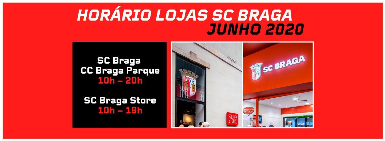 Lojas do SC Braga: Horários de Funcionamento 3