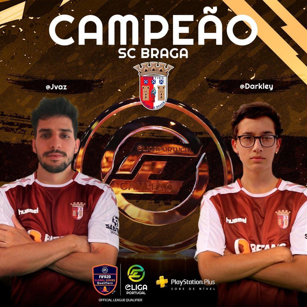 SC Braga sagra-se bicampeão da Eliga Portugal