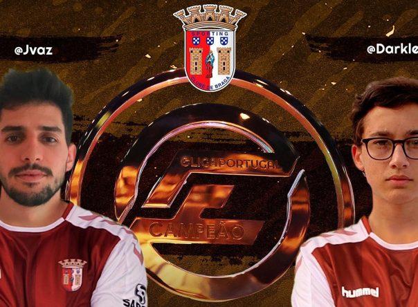 SC Braga é bicampeão da Eliga Portugal