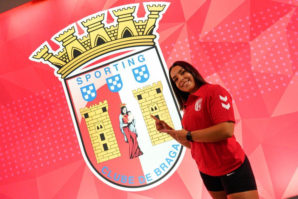 Patrícia Esparteiro vai representar o SC Braga