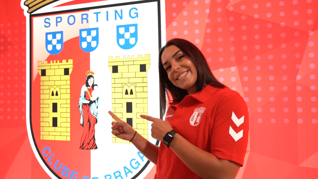 Patrícia Esparteiro vai representar o SC Braga 1