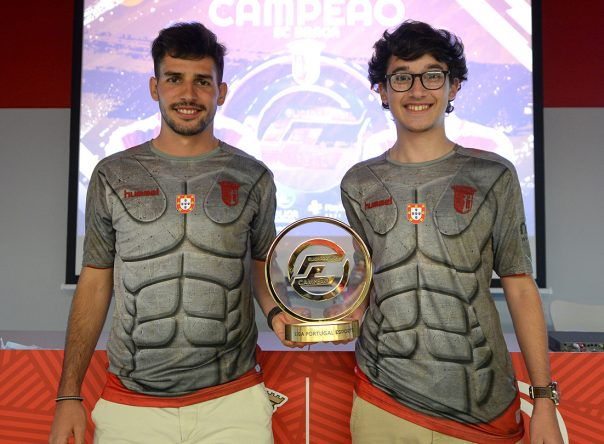 SC Braga celebra conquista do bicampeonato da ELiga Portugal 4