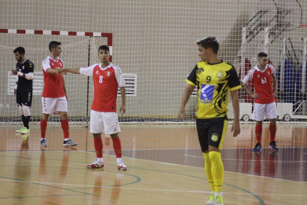 Primeiros desafios de pré-época do SC Braga/AAUM 1