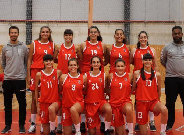 Mais uma vitória da equipa de basquetebol feminino