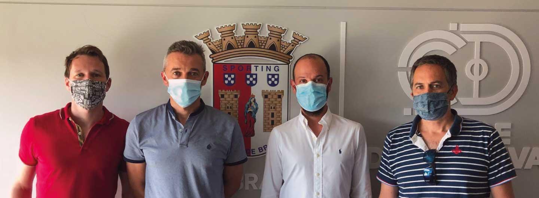 SC Braga/AAUM assina protocolo com AC Luso 2