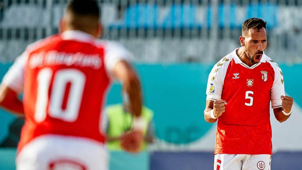 Atitude de Gverreiros na vitória frente ao Sporting CP