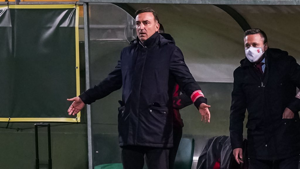 """Carlos Carvalhal: """"Vitória boa e robusta"""""""