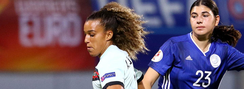 Dolores Silva e Andreia Norton titulares na vitória da Seleção 2