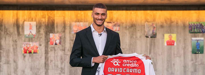 David Carmo renova até 2025 2