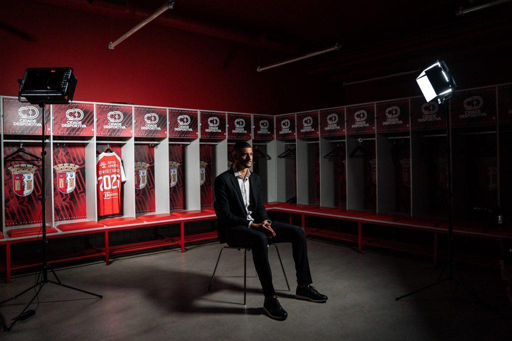 """David Carmo: """"Sinto que o clube acredita em mim"""" 2"""