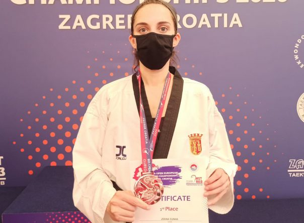 Joana Cunha conquista medalha de bronze em Zagreb 1