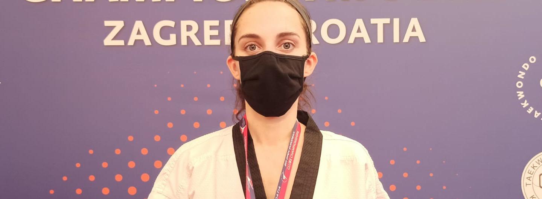 Joana Cunha conquista medalha de bronze em Zagreb 2