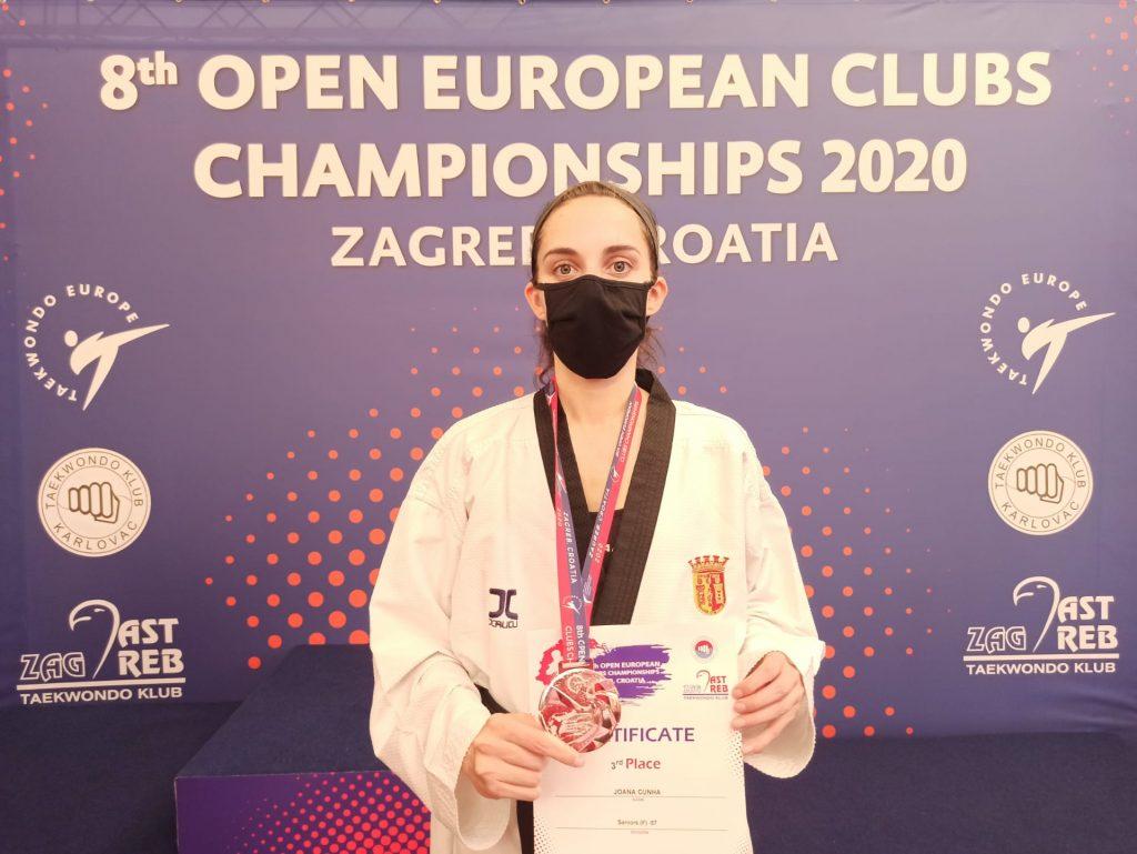 Joana Cunha conquista medalha de bronze em Zagreb